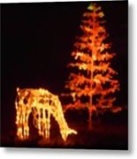 Forest Christmas Metal Print