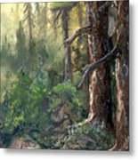Forest Deep Metal Print