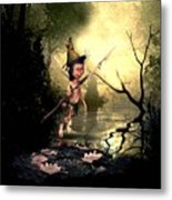Forest Elf Metal Print