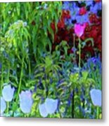 Forest Flowers Different One Metal Print