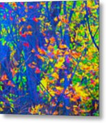 Forest Foliage Art Metal Print