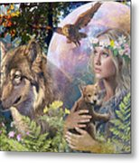 Forest Friends 2 Metal Print