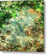 Forest Gathering Metal Print