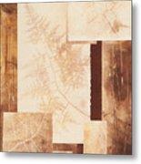 Forest Imprints Metal Print