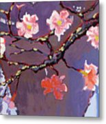 Forest In Bloom Metal Print