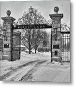 Forest Lawn Gate 4391 Metal Print