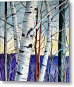 Forest Of Trees Metal Print