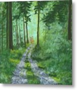 Forest Path 2 Metal Print