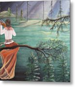 Forest Serenade Metal Print