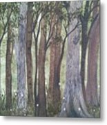 Forest Spring Metal Print