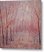 Forest Stillness. Metal Print