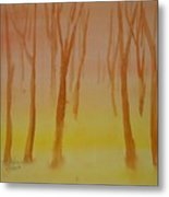 Forest Study Metal Print