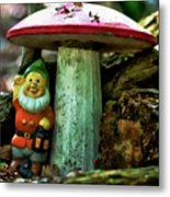 Forest Toy Metal Print