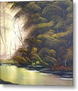 Forest Tranquility  Metal Print