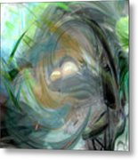 Forest Wind Metal Print