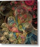 Forever Blowing Bubbles Metal Print