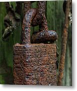 Forever Locked Metal Print