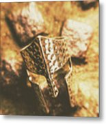 Forged In The Crusades Metal Print