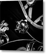 Forged Pattern Metal Print