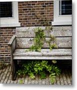 Forgotten Bench Metal Print