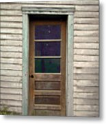 Forgotten Door Metal Print