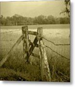 Forgotten Fields Metal Print