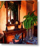 Forgotten Foyer Metal Print