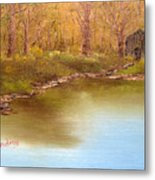 Forgotten Lake Metal Print