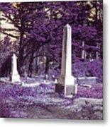 Forgotten Monuments Metal Print