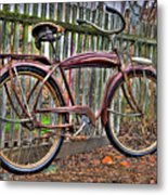 Forgotten Ride 1 Metal Print
