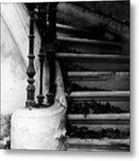 Forgotten Stairs Metal Print by Georgia Fowler