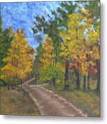 Fork In The Path Metal Print