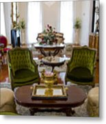 Formal Dining Room Metal Print