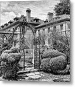 Formal Gardens Metal Print