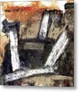 Formation. Abstract World Metal Print