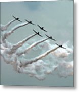 Formation Fly By Metal Print