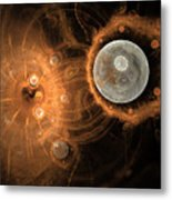 Formation Of New Planets Metal Print