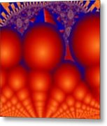 Formation Of Red Orbs Metal Print