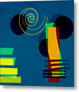 Formes - 03b Metal Print by Variance Collections