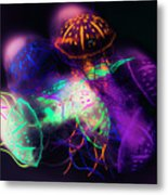 Forms And Merger Metal Print