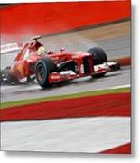Formula 1 British Grand Prix Metal Print