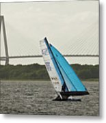 Formula 18 Sailing Cat Big Booty Charleston Sc Metal Print