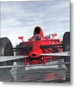 Formula One Racer Metal Print by Carol and Mike Werner