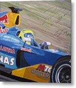 Formula One Racing Car Sauber Petronas Metal Print