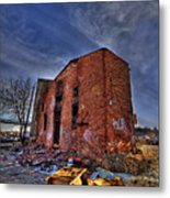 Forsaken Luxury Metal Print
