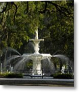Forsyth Fountain 1858 Metal Print