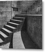 Fort Casey Steps 3939 Metal Print