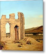 Fort Churchill Nevada Metal Print by Evelyne Boynton Grierson