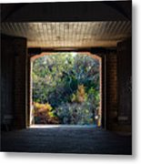 Fort Clinch Portal Metal Print