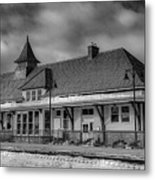 Fort Edward Train Station Metal Print